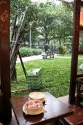 騒豆花から眺める延吉公園